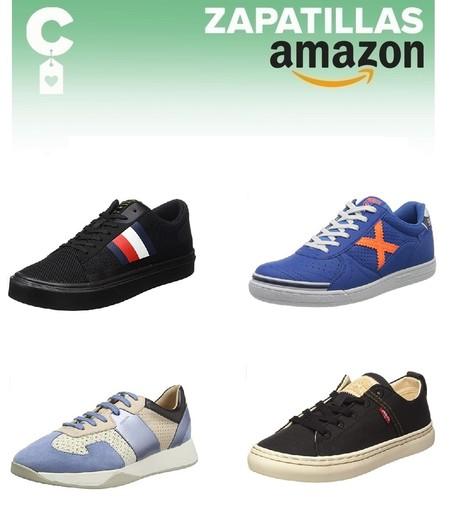 11 chollos en tallas sueltas de  zapatillas Geox, Levi's, Munich o Tommy Hilfiger en Amazon