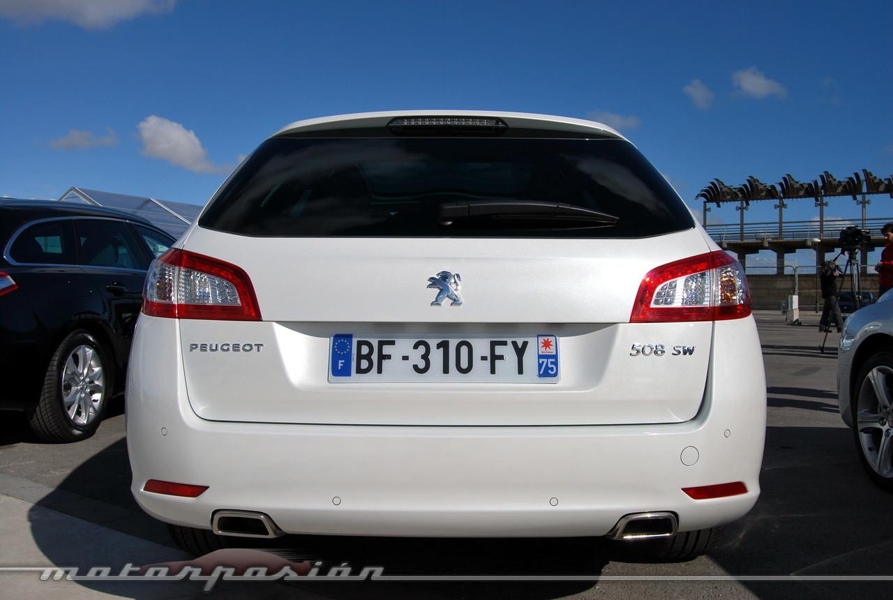 Peugeot 508 y 508 SW (presentación)