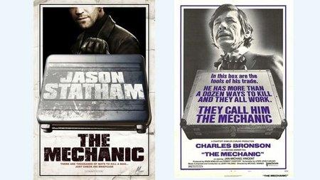 'The Mechanic', cartel y tráiler del remake, con Jason Statham en el papel de Charles Bronson