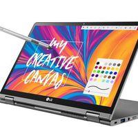 LG Gram 14T990-G, un portátil potente para usar con el teclado o con la pantalla por 1.299 euros en PcComponentes