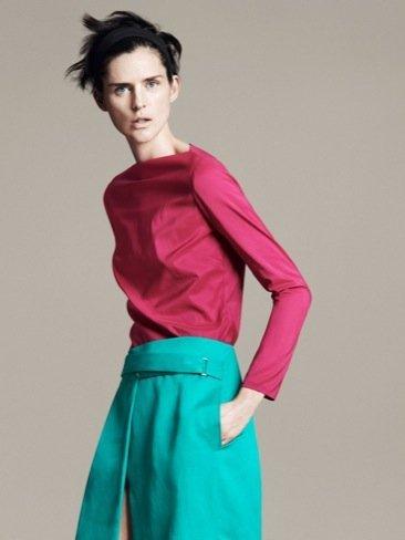 Catálogo Zara Primavera-Verano 2011 falda