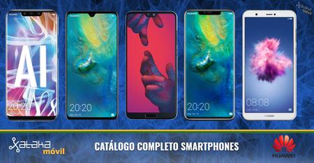 Huawei Mate 20, Mate 20 Pro y Mate 20X, así encajan dentro del catálogo completo de smartphones Huawei en 2018