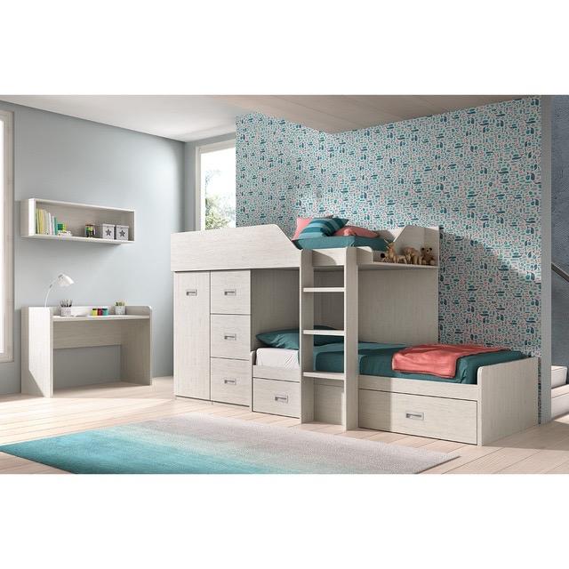 Dormitorio infantil por piezas
