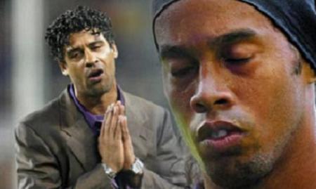 Ronaldinho, liado con la hija de Rijkaard