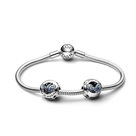 Pandora Pulsera Pandora Rigida En Plata De Ley 59eur Charms We Can Do Anything 49eur