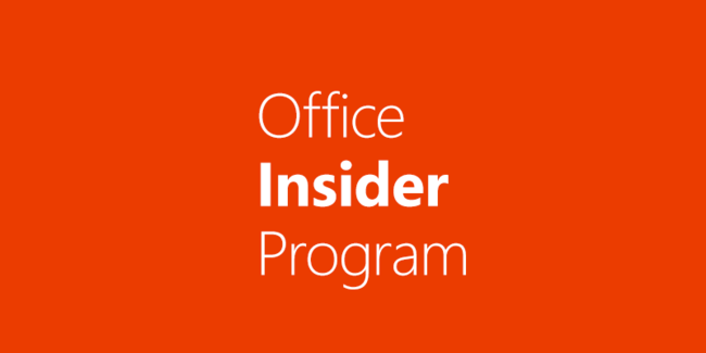 Officeinsiderprogram