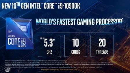 Intel Comet Lake S 10a Gen 3