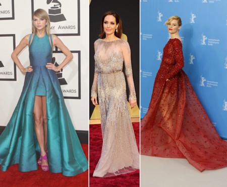 Taylor Swift Angelina Jolie Elizabeth Banks Elie Saab