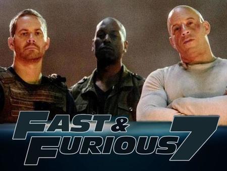 Reanudan filmación de Rápidos y Furiosos 7, tras la muerte de Paul Walker