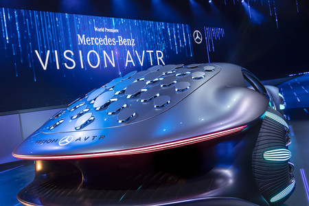 Mercedes Benz Vision Avtr 10