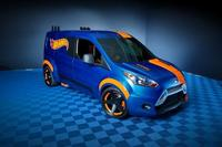 Ford Transit Connect 2014 Hot Wheels