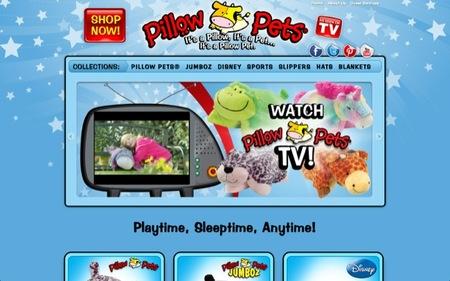 Las Pillow Pets son unos peluches y unas almohadas mullidas para que los peques descansen