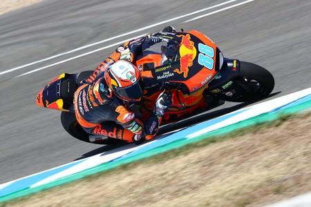 Jorge Martín bate a Jorge Navarro en Jerez para conseguir su primera pole position en Moto2