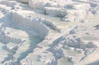 Pamukkale: un castillo de algodón en el interior de Turquía