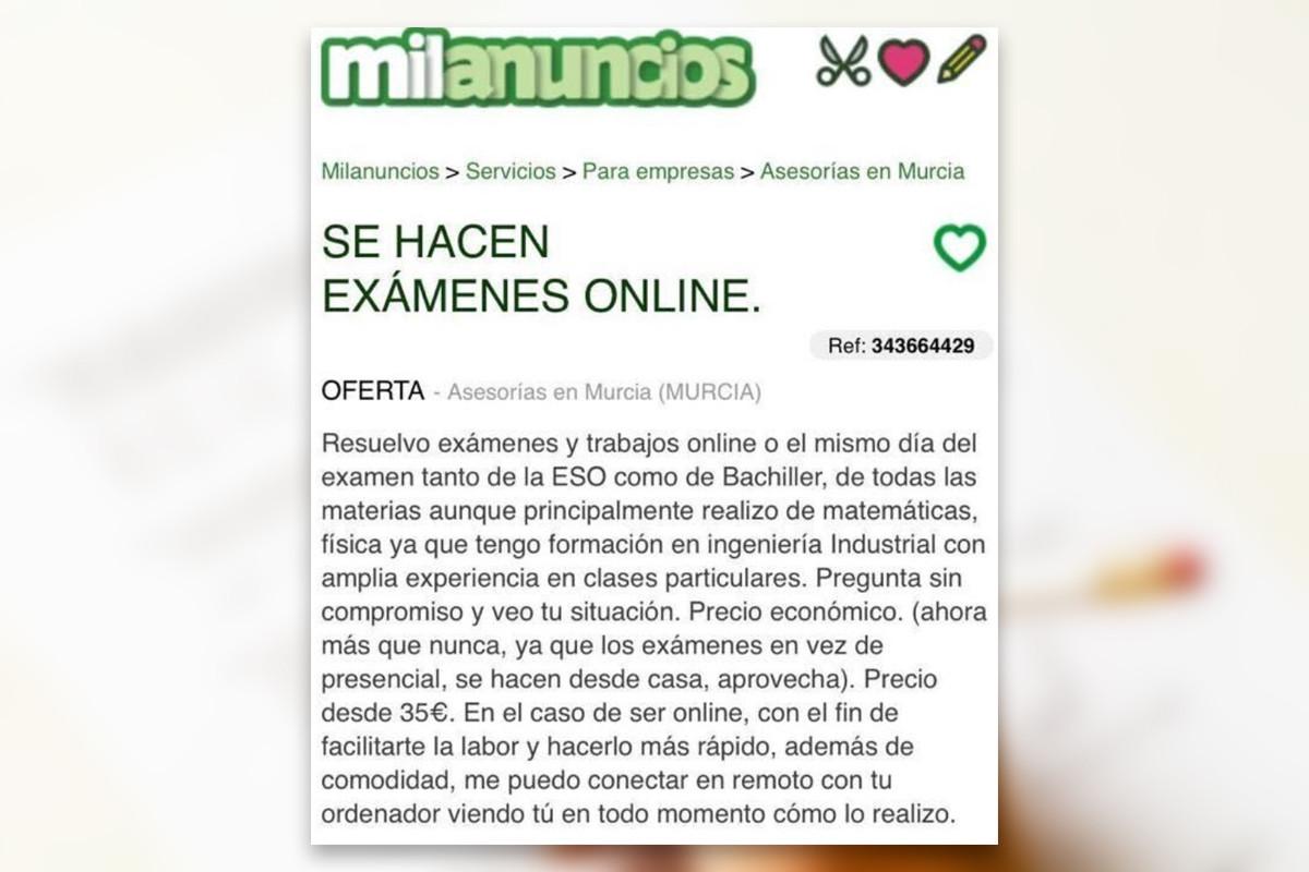 Te Hago El Examen Online Por 20 La Nueva Situacion Estudiantil Es Una Barra Libre Para Las Trampas