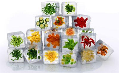 Verduras, ¿congeladas o frescas?
