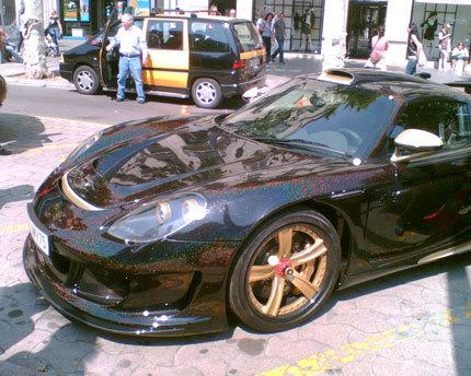 Otro Gemballa Mirage GT, esta vez en Barcelona y con dueño famoso, Eto'o