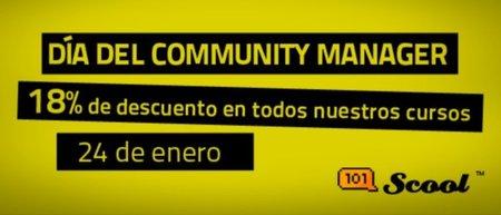El 24 de enero: el Día del Community Manager con descuento