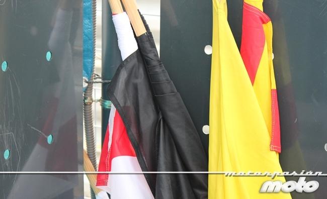 Banderas de los comisarios