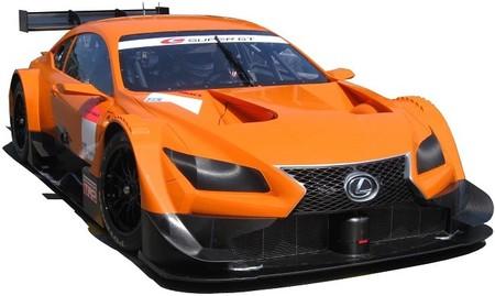Lexus LF-CC Super GT: así surca el asfalto