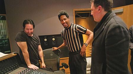 Baptiste con Reznor y Ross