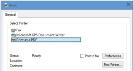 Imprimir Pdf Windows10