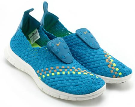 Nike Free Woven para primavera 2013: el tejido sigue de moda
