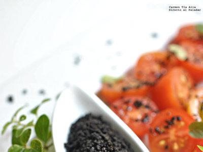 Cómo hacer sal de aceitunas negras