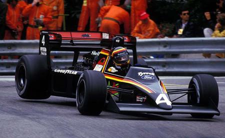 Stefan Belloff Tyrrell 012 Mónaco 1984