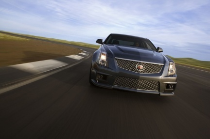 Desvelado el 2009 Cadillac CTS-V, 550 CV de matador