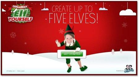 Elf Yourself: felicita la Navidad con el vídeo de los elfos