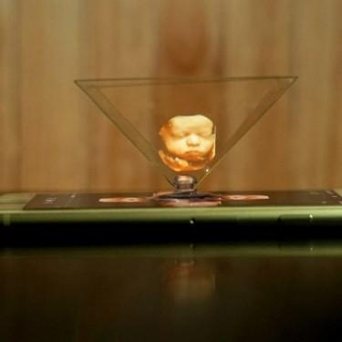 Nueva ecografía 5D con holografía para que los padres puedan ver imágenes tridimensionales de su bebé antes de nacer