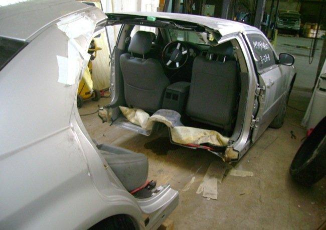 Partes Para Carros >> Coches cortados por la mitad para ahorrar impuestos en la importación