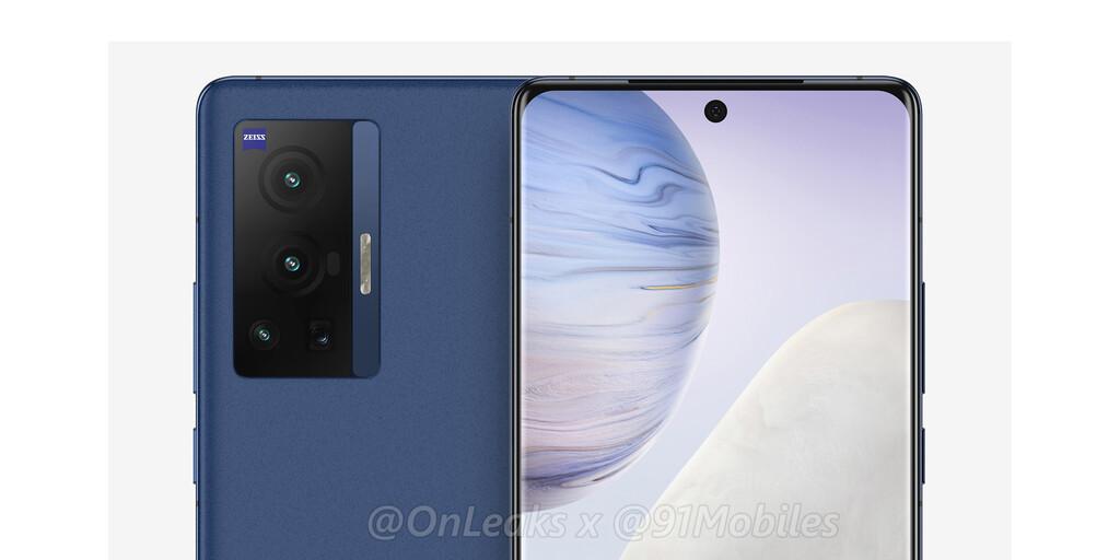 El Vivo X70 Pro se filtra en vídeo y nos deja ver su diseño y algunas características importantes