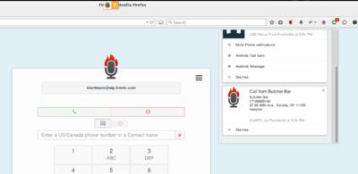 FireRTC es la extensión definitiva de PushBullet: nos permite atender llamadas desde el PC