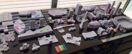 En Barranquilla se está construyendo una enorme maqueta de la ciudad con 7 impresoras 3D