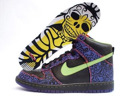 Unas Nike para el día de los muertos