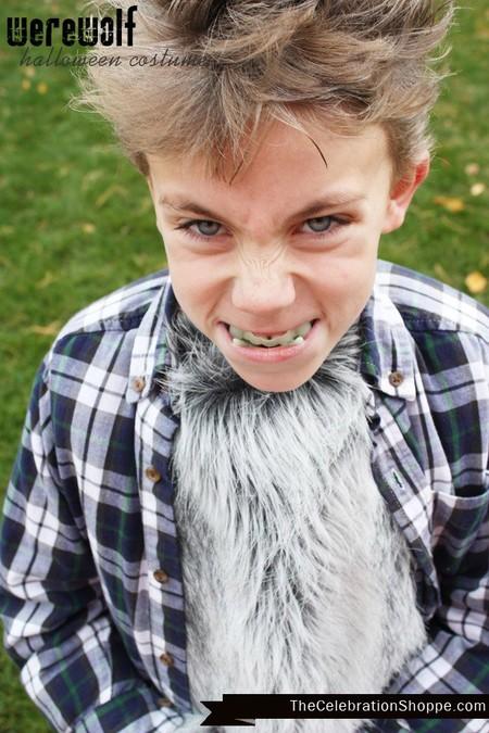Disfraz Halloween Facil Barato Hombre Lobo 3