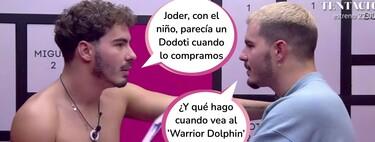 """Desvelamos el impactante secreto de Julen en 'Secret Story' gracias a los Gemeliers: el extronista llama a su miembro viril """"the warrior dolphin"""" (delfín guerrero)"""