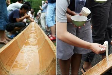 ¡A la caza del fideo! La tradición de Nagashi-Somen en Japón