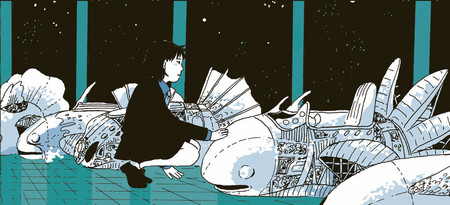 Tillie Walden On A Sunbeam Cubiertas Primera Parte