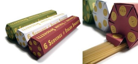 Envase medidor de espaguetis