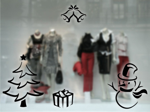 Foto de Vinilos decorativos navideños (1/13)