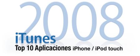 Las aplicaciones más populares de la App Store en el 2008