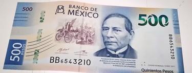 Nuevo billete de 500 pesos, adiós al de 20 y hola al de 2,000: lo que necesitas saber de la nueva familia de billetes en México