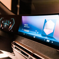 BMW desvela su nueva pantalla y sistema operativo: se estrenará en en el SUV eléctrico BMW iX