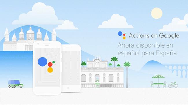 Actions On Google Spanish