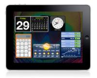 ¿Dónde están los widgets del iPad? en el Dashboard
