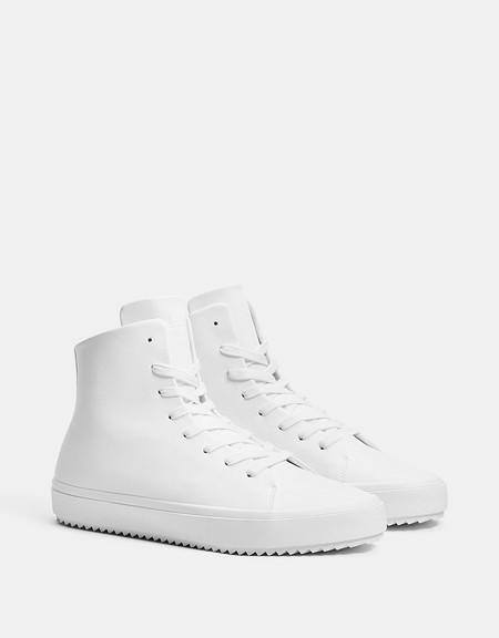 Siete Zapatillas Blancas De Bershka Que Seran Tus Companeras A Lo Largo De La Primavera