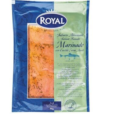 Alerta alimentaria por presencia de Listeria en salmón ahumado marinado de la marca Royal